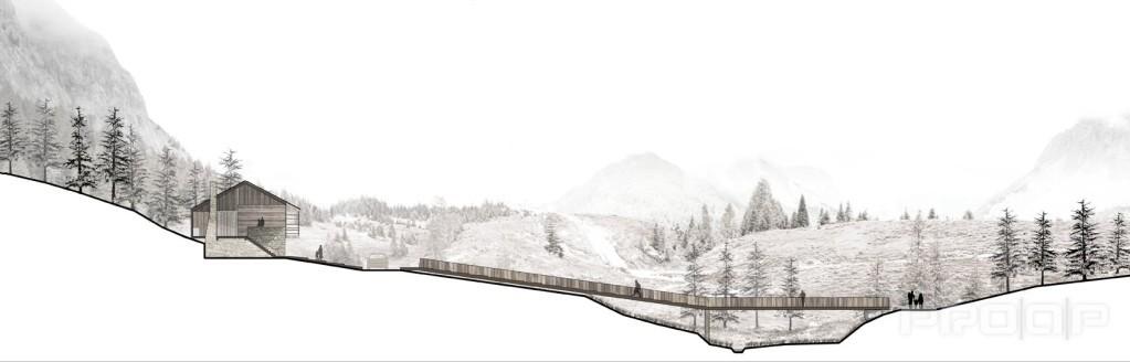 Riqualificazione paesaggistica sorgenti del piave for Piani dell edificio per la colazione